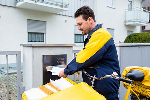 Minimum wage for postal and parcel deliverers